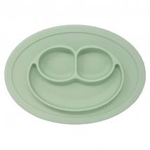 Ezpz εκπαιδευτικό πιάτο Happy Mini Mat - Sage