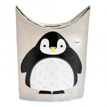 3 Sprouts καλάθι για τα άπλυτα - Penguin
