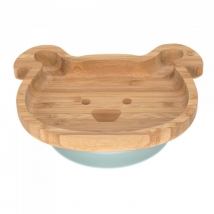 Lassig πιάτο από ξύλο & μπαμπού - Little Chums Dog