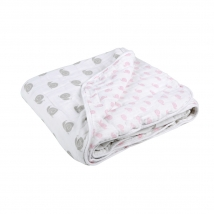Lassig κουβερτάκι-πανί πολλών χρήσεων cosy blanket - Girls snails