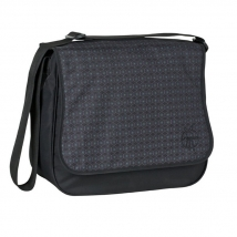 Lassig Basic Messenger τσάντα αλλαγής - comb black LBMB101110