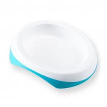 Difrax πιάτο φαγητού μεγάλο - blue
