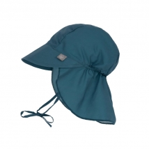 Lassig παιδικό καπέλο με προστασία λαιμού - Navy blue 1433006497