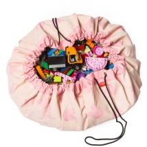 Play & Go στρώμα παιχνιδιού και τσάντα 2 σε 1 Limited Editions - Pink Elephant 799743