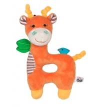 Zoocchini κουδουνίστρα για μωρά - Giraffe orange