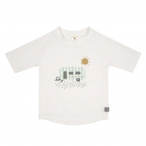 Lassig UV T-shirt μπλουζάκι θαλάσσης - Caravan White 1431020134