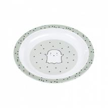 Lassig πιάτο - Little Spookies olive (New)