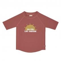 Lassig UV T-shirt μπλουζάκι θαλάσσης - Sunshine rosewood 1431020618