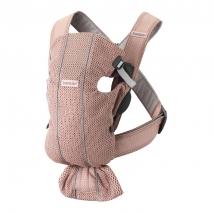BabyBjörn Mini μάρσιπος 3D Mesh - Dusty Pink 021003