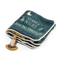 Sebra μαλακό βιβλίο δραστηριοτήτων - 302230001 Nightfall