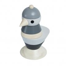 Sebra stacking tower Bird - Classic Grey 3017303