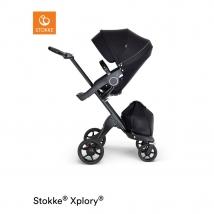 Stokke Xplory V6  Black Chassis - Black