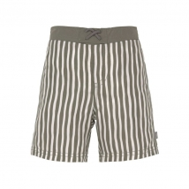 Lassig μαγιό shorts - Stripes olive1431009575