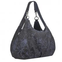 Lassig Shoulder bag τσάντα αλλαγής Gold label - Grey