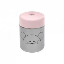 Lassig μεταλλικό βάζο φαγητού 315ml - Little Chums Mouse 1310024725
