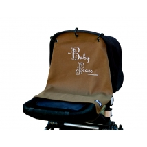 Kurtis σκίαστρο καροτσιού, Baby Peace, original - Brown