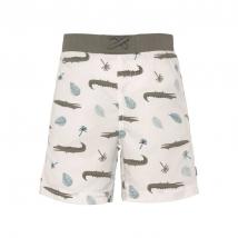 Lassig μαγιό shorts - Crocodile white 1431009132