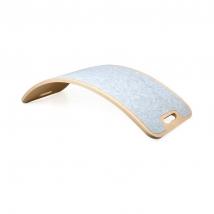 Curvelab σανίδα ισορροπίας με τσόχα - Light Grey