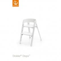 Stokke Steps παιδικό κάθισμα φαγητού - White/Oak White