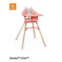 Stokke® Clikk™ κάθισμα φαγητού - Sunny coral