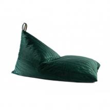 Nobodinoz Essaouira Velvet  beanbag - Jungle Green NB112497