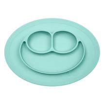 Ezpz εκπαιδευτικό πιάτο Happy Mini Mat - Aqua