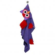 Zoocchini παιδική μπουρνουζοπετσέτα - Owl
