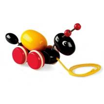 Brio ξύλινο pull toy μηρμύγκι - Μυρμήγκι 30367