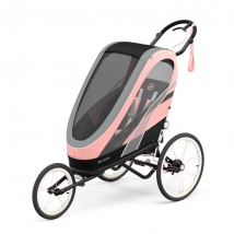 Cybex Zeno παιδικό καρότσι 4 σε 1 - Black/Pink Silver Pink