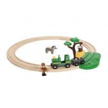 Brio παιδικό τραινάκι Safari set - 33720