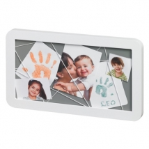 BabyArt αναμνηστικός πίνακας - white/grey 34120125