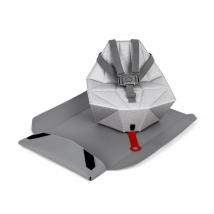 Bombol Pop-Up Booster φορητό κάθισμα φαγητού - Pebble grey