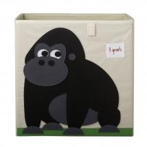 3 sprouts τετράγωνο καλάθι για τα παιχνίδια - Gorilla