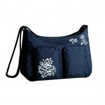 Lassig Marv Shoulder bag τσάντα αλλαγής - MSB0102 black (leaves)