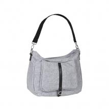 Lassig Shoulder bag τσάντα αλλαγής Green Label - Black Melange