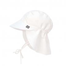 Lassig παιδικό καπέλο με προστασία λαιμού - White 1433006100