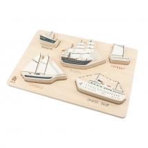 Sebra ξύλινο παζλ - Seven seas 301510007
