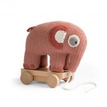 Sebra τροχήλατο ελεφαντάκι crochet - Blosso(NEW!) 30012023