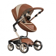Mima Xari παιδικό καρότσι Limited Edition - Moscow Camel w/Champagne Chassis