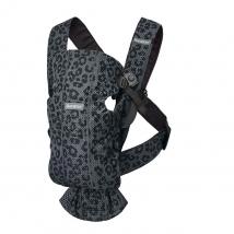 BabyBjörn Mini μάρσιπος 3D Mesh - Leopard anthracite 021078
