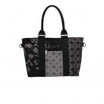 Lassig Shopper Bag τσάντα αλλαγής - black