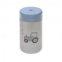 Lassig μεταλλικό βάζο φαγητού 480ml - Adventure Tractor 1310058496