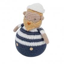 Sebra crochet κουνιστό ζωάκι - 301210004 ναυτάκι