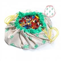 Play & Go στρώμα παιχνιδιού και τσάντα 2 σε 1 Limited Editions - Cactus PG799774