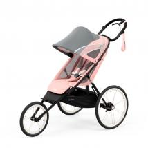 Cybex Avi παιδικό καρότσι - Black/Pink Silver Pink