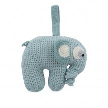Sebra crochet μουσικό παιχνίδι - Lagoon blue 3013106