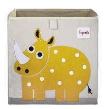 3 sprouts τετράγωνο καλάθι για τα παιχνίδια - Rhino