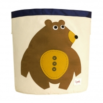 3 sprouts καλάθι για τα παιχνίδια - Bear