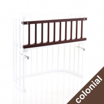babybay® κάγκελο ασφαλείας για λίκνο Original - Walnut brown 100203