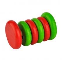 Voggenreiter ξύλινη κουδουνίστρα χρωματιστοί δίσκοι - 1123